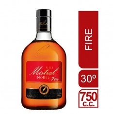 Pisco Mistral Nobel Fire 30º 750ml